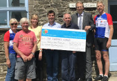 THE CHILDREN'S CENTRE - LONDON TO NICE CYCLE RAISES THE BAR